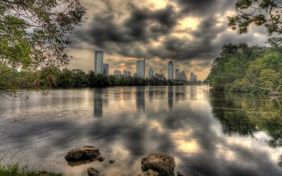 Morning Skyline - - Austin Series