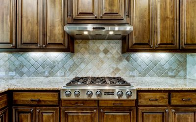 Stove & Backsplash