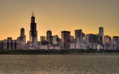 Chicago Sunset - Chicago Series